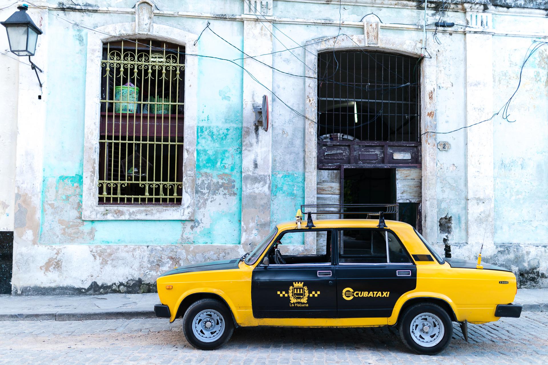 Bild: Cubataxi Havanna Kuba