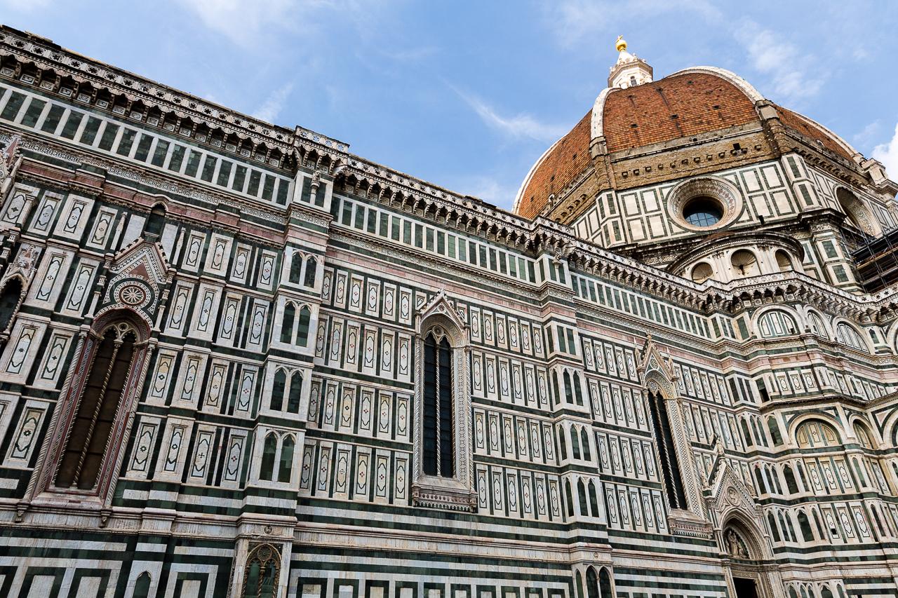 Bild: Dom Santa Maria del Fiore in Florenz in Norditalien