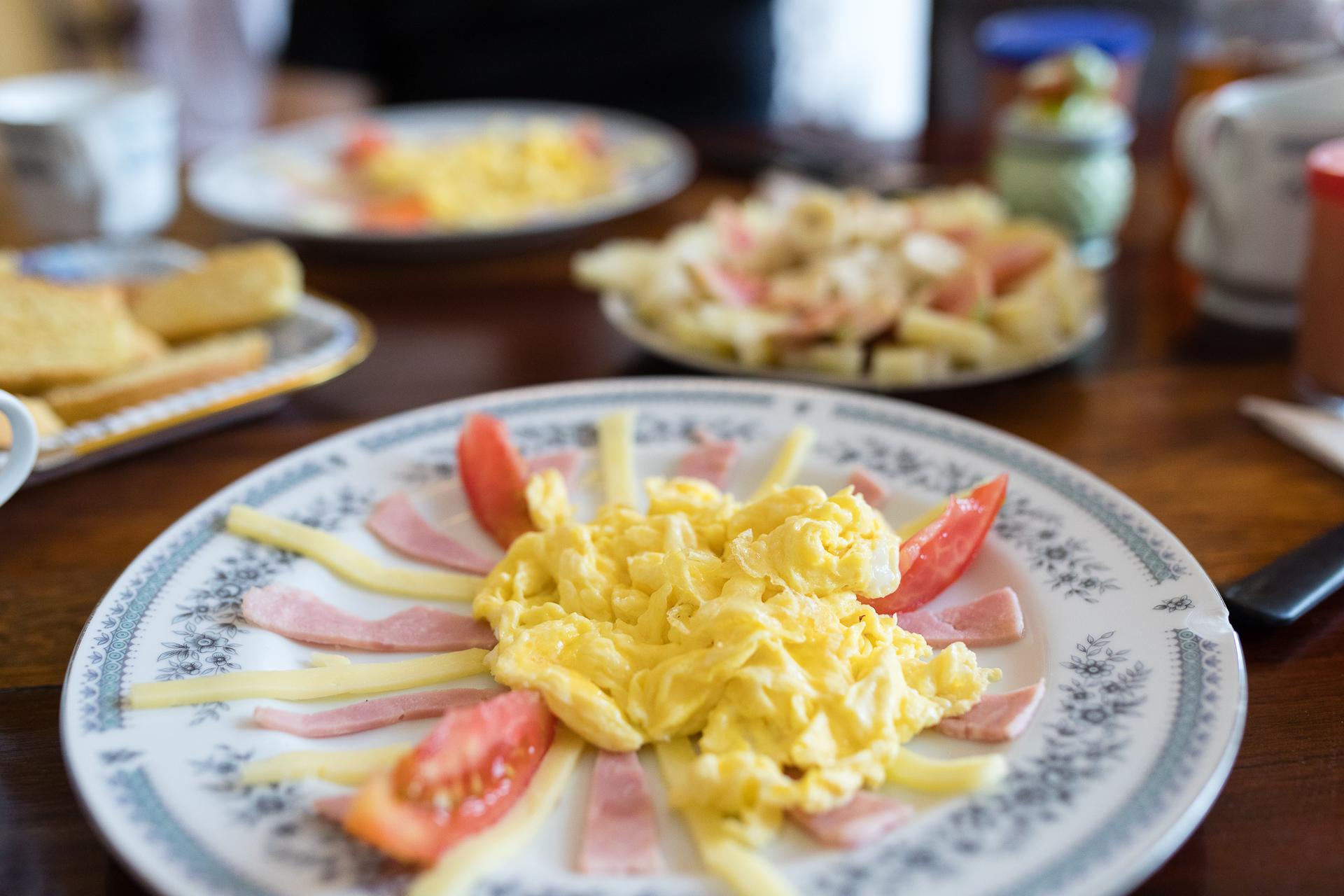 Bild: Frühstück in einer Casa Particular in Kuba