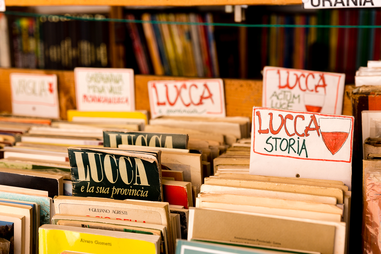 Bild: Lucca Stadt in der Toskana Sehenswürdiskeiten