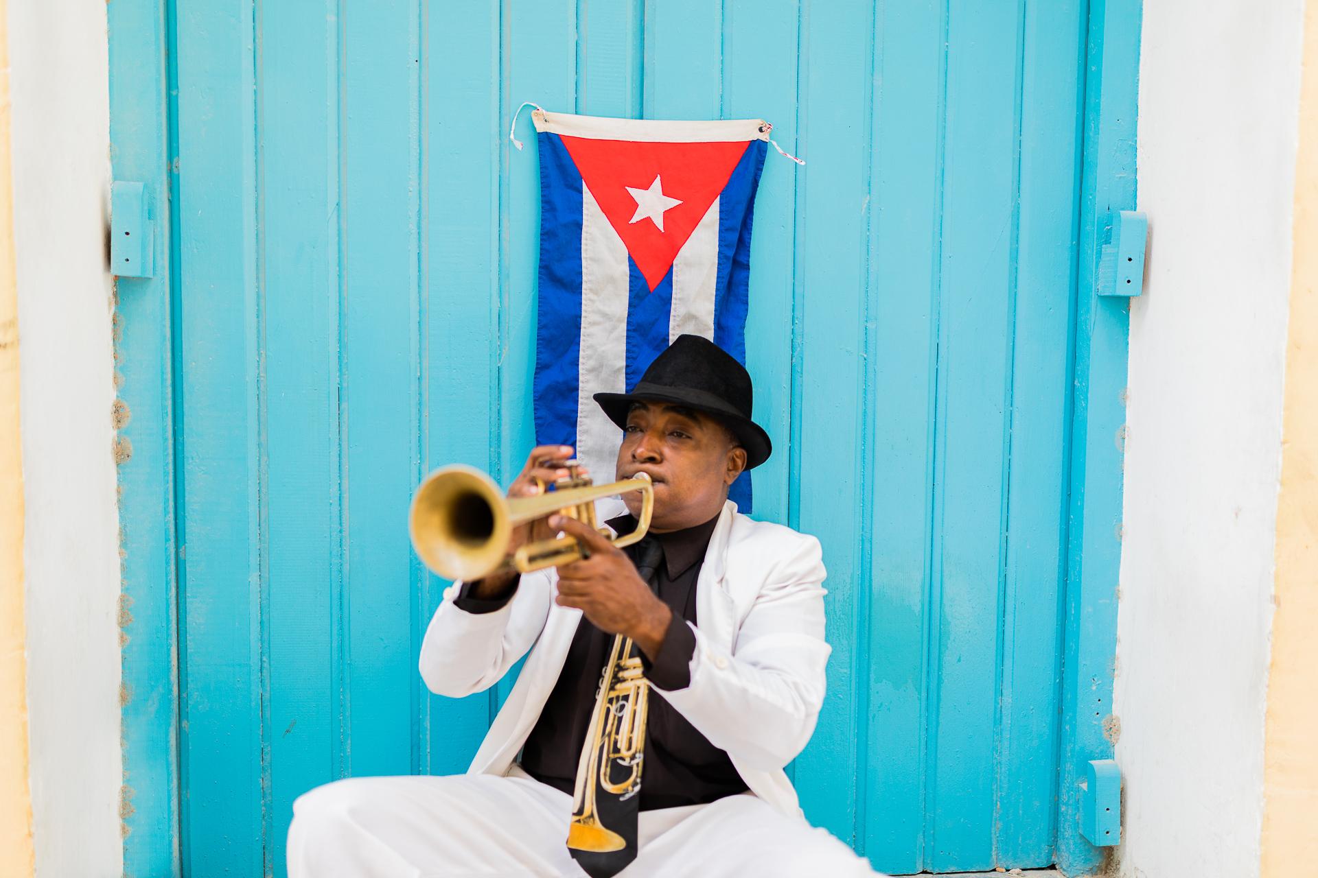 Bild: Musiker in Havannas Altstadt Habana Vieja