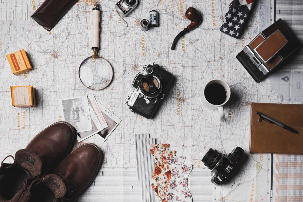 Bild: Packliste für die Reise