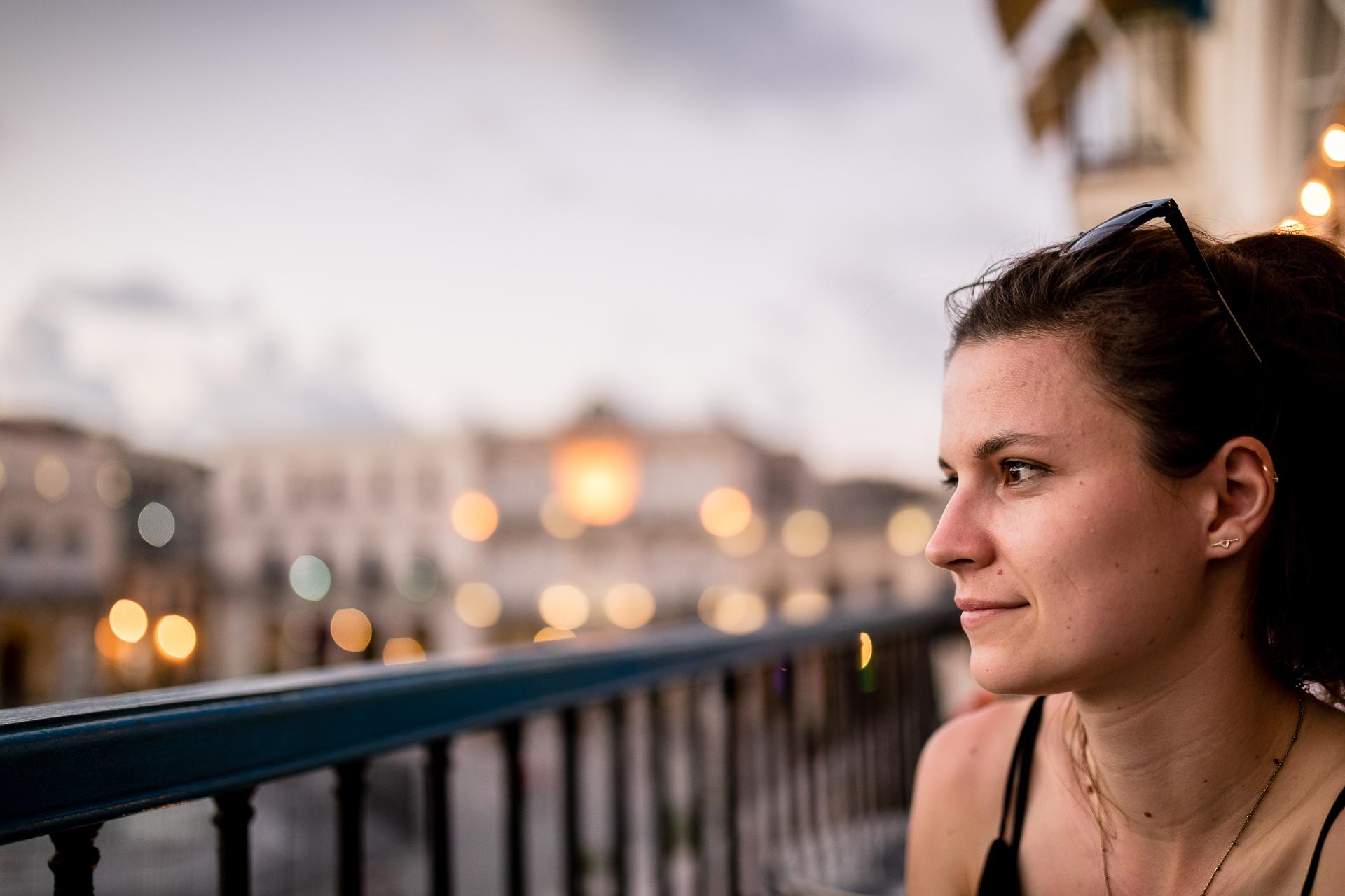 Bild: Mojitos im Sonnenuntergang auf dem Plaza Vieja in Havanna