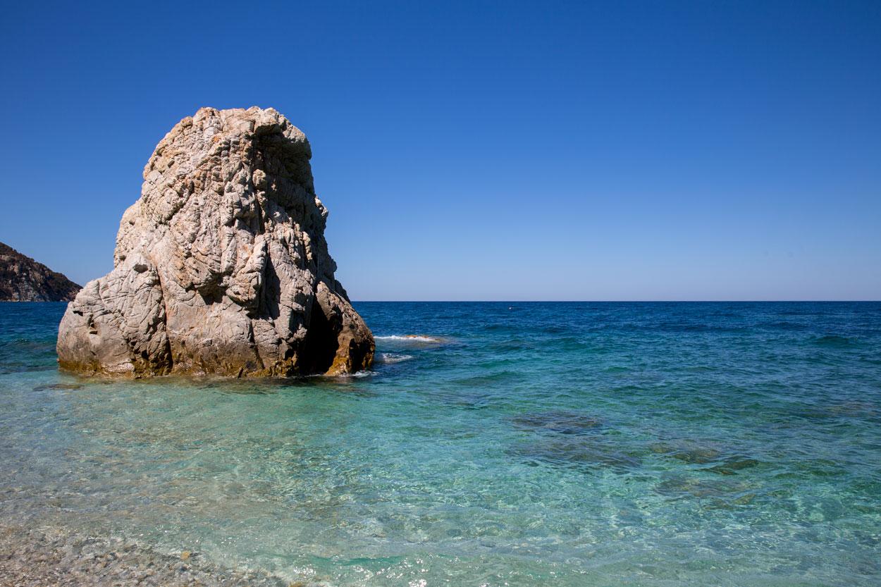 Bild: Strand Sansone auf der Insel Elba in Italien