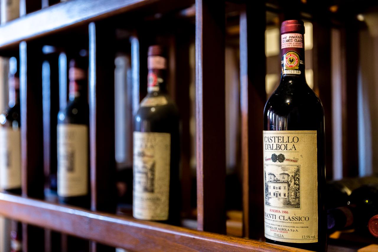 BIld: Wein aus der Toskana Chianti Castello d'Albola