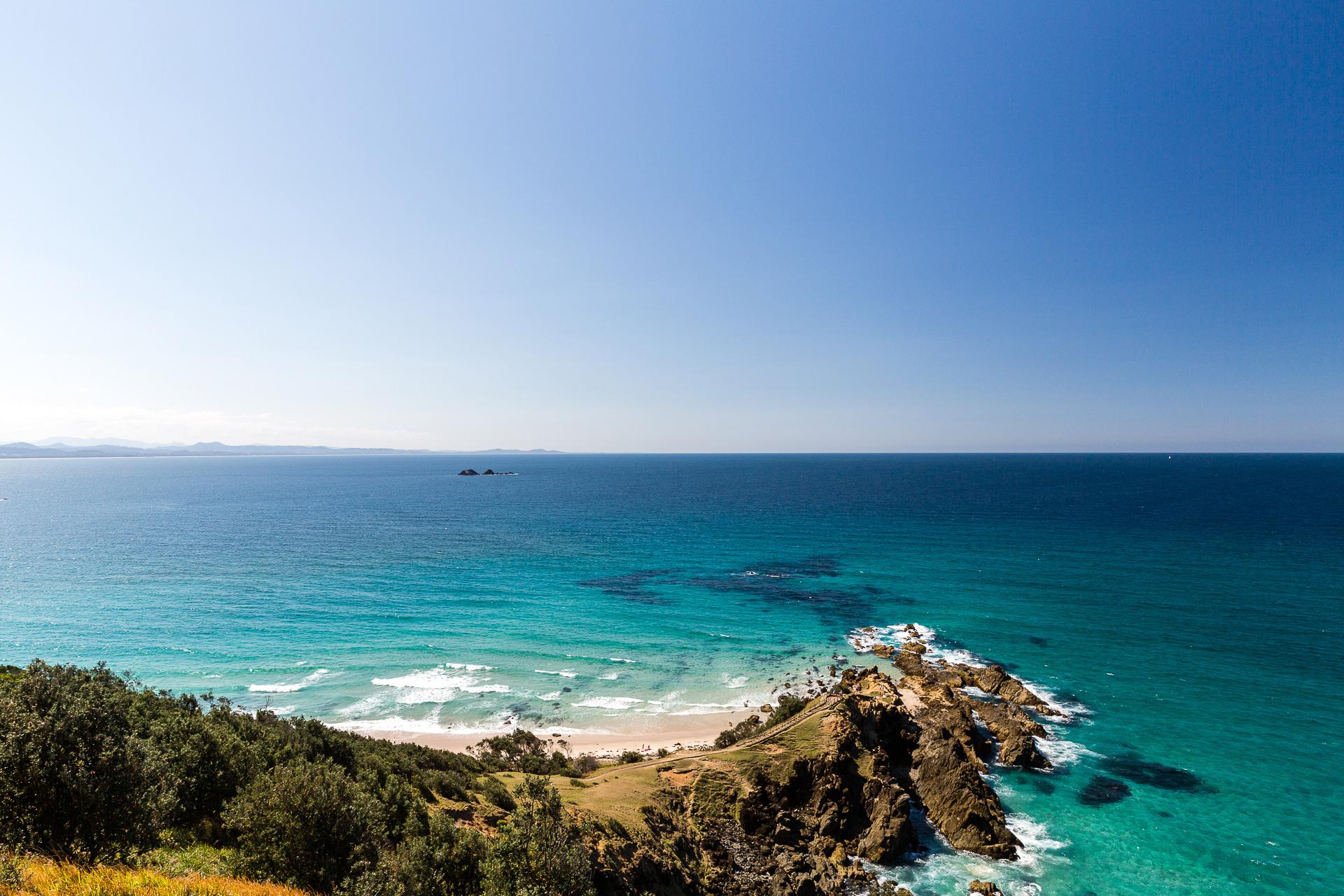 Bild: Leuchtturm Byron Bay Ostküste Australien