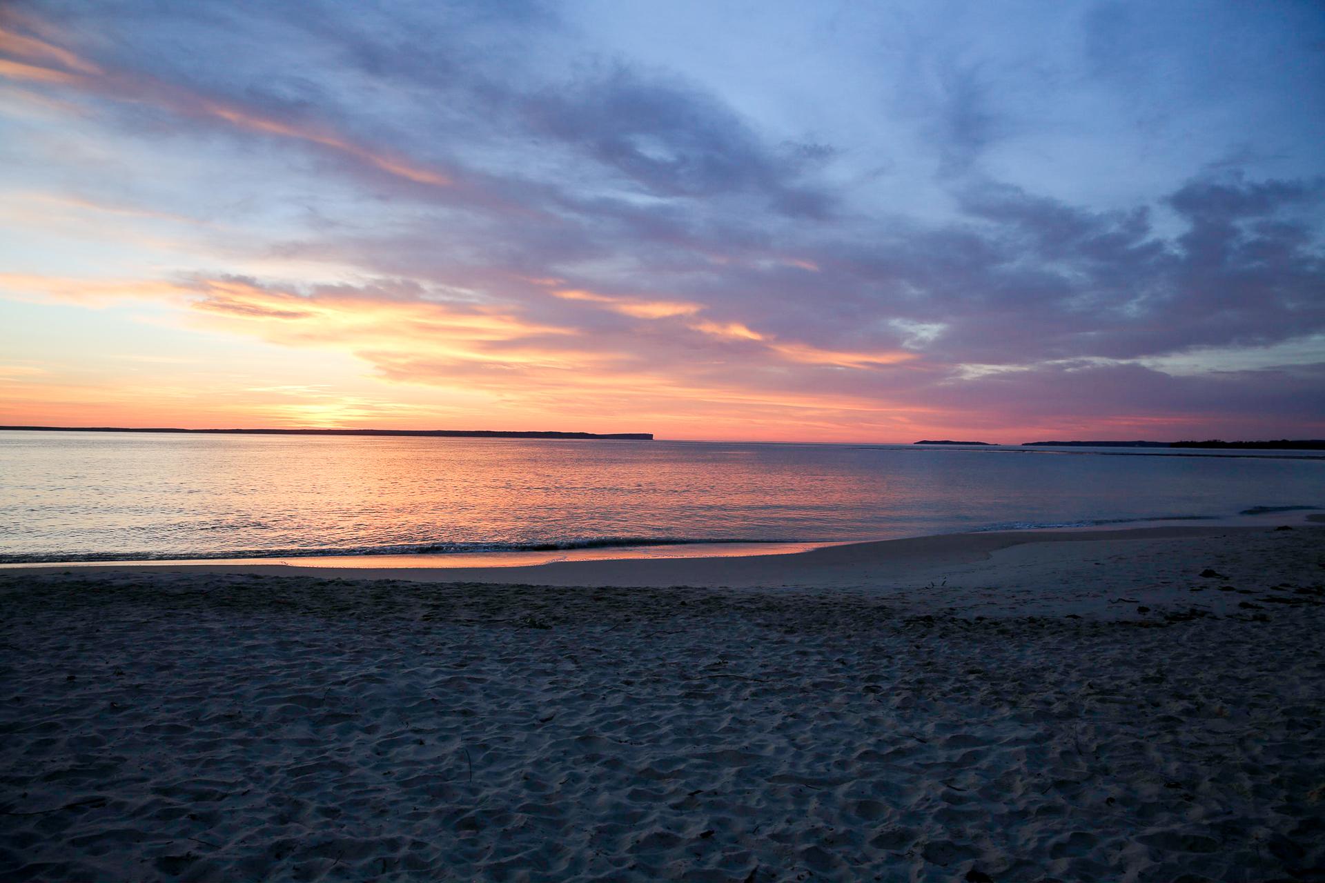 Bild: Sonnenaufgang Jervis Bay Australien Ostküste