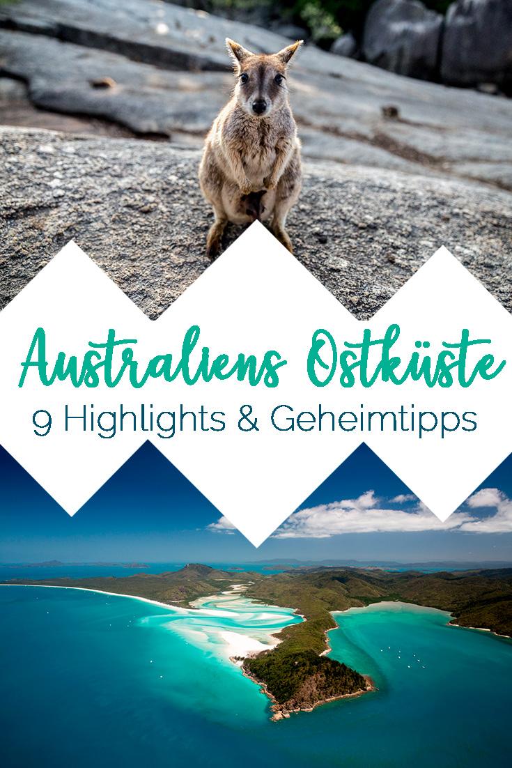 Bild: Australiens Ostküste Sehenswürdigkeiten, Highlights und Geheimtipps