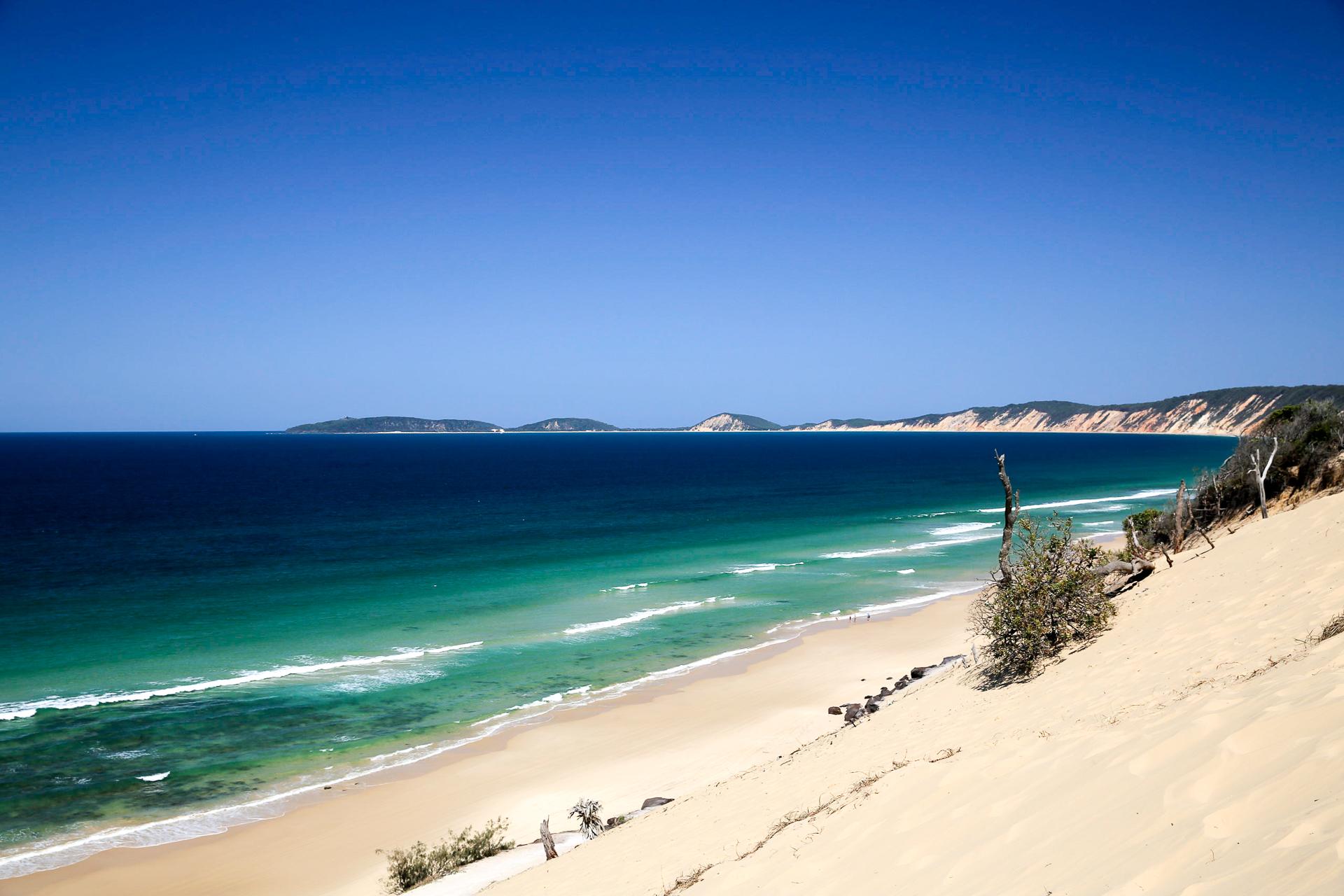 Bild: Cooloola Section zwischen Rainbow Beach und Noosa Heads Fraser Island