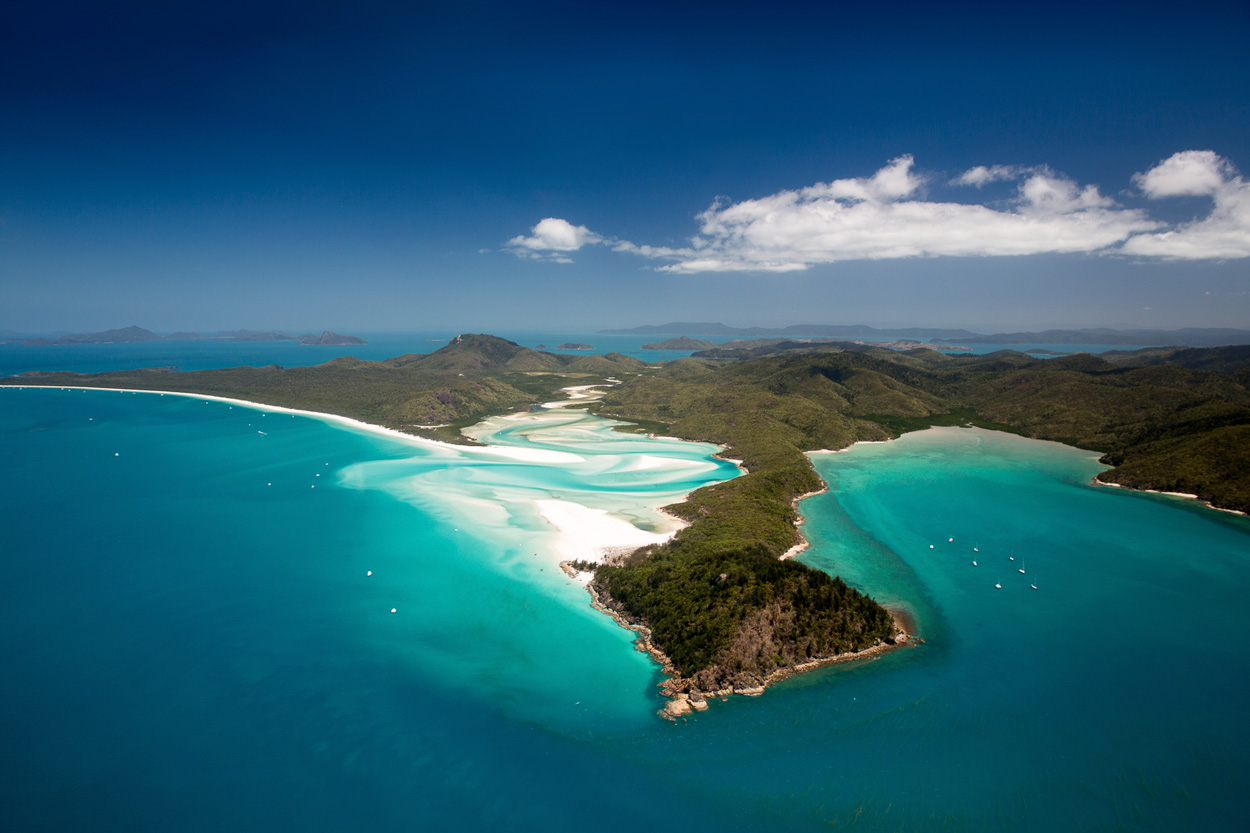 Bild: Whitsunday Islands Whitehaven Beach Australien Ostküste