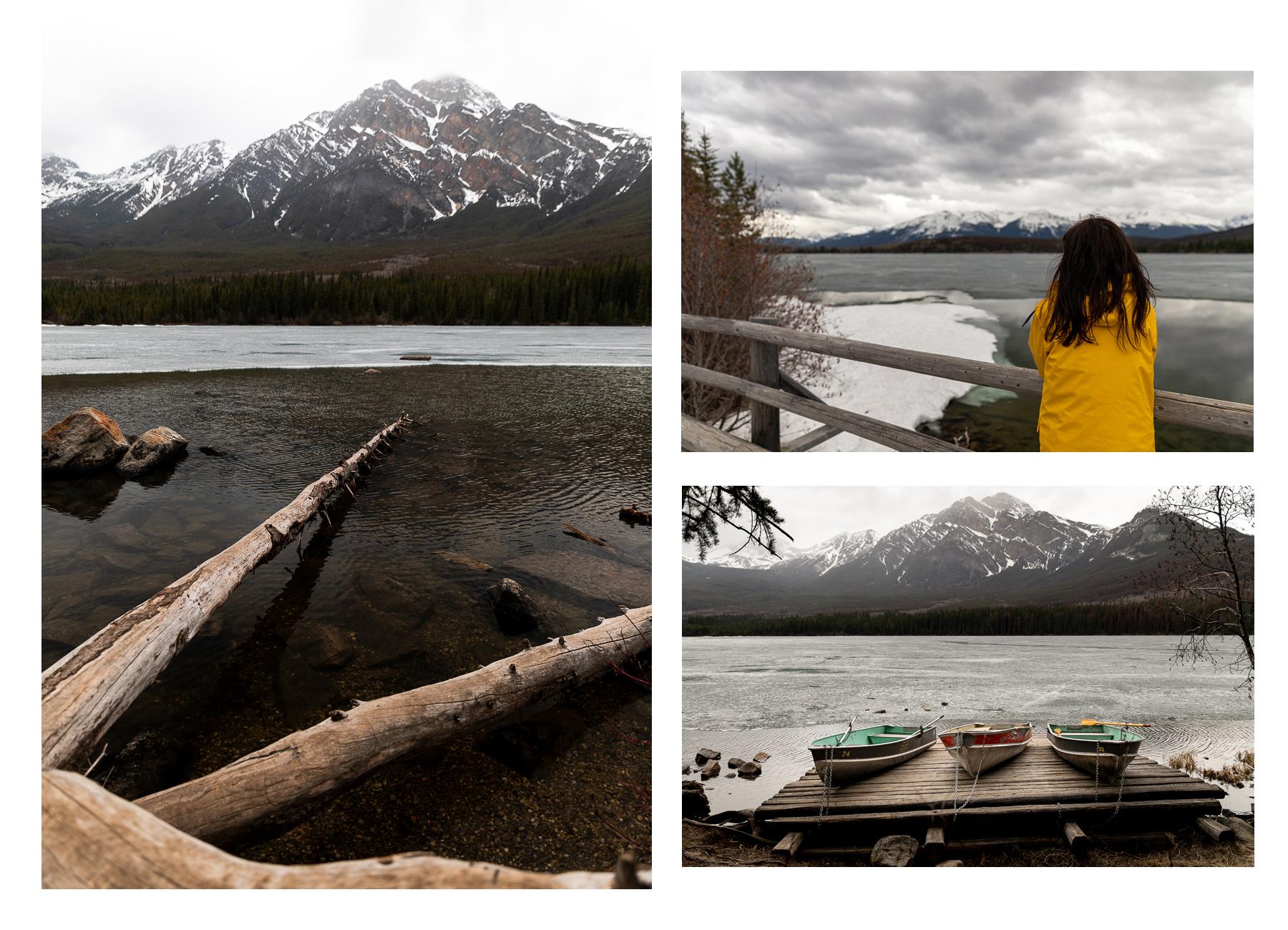 Bild: Pyramid Lake Jasper Nationalpark Sehenswürdigkeiten Kanada