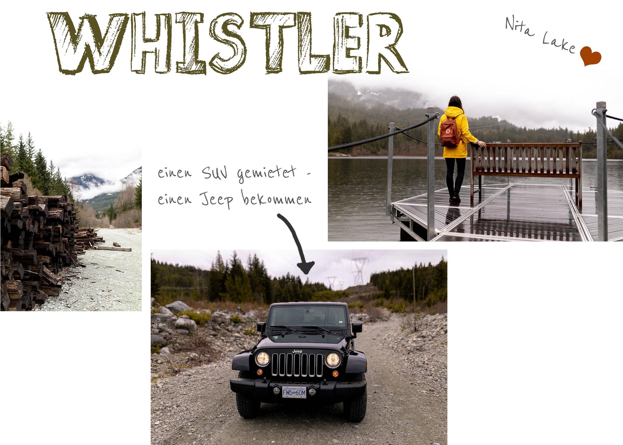 Whistler in Kanada , ein Roadtrip durch Kanadas Westen