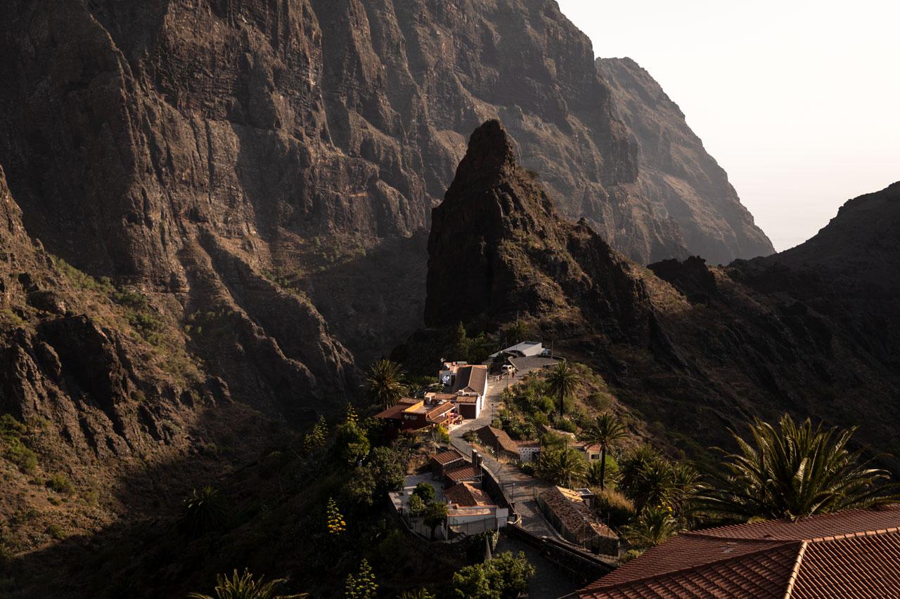 Tipps für bessere Reisefotos Reisefotografie Masca Schlucht Teneriffa Sonnenuntergang