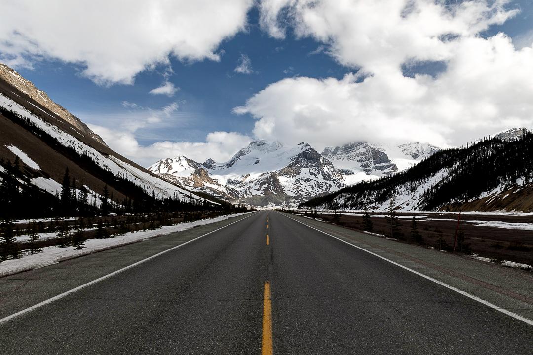 Icefields Parkway Rocky Mountains - Rundreise durch den Westen Kanadas