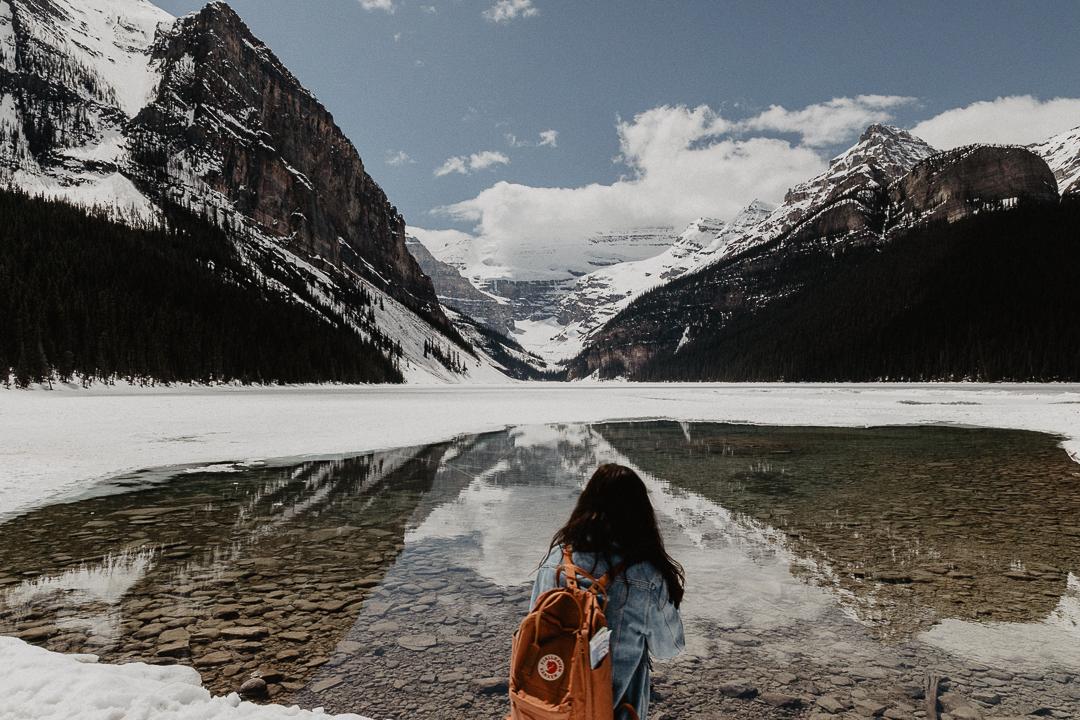 Bild: Lake Louise Banff Nationalpark Icefields Parkway Kanada Sehenswürdigkeiten und Highlights