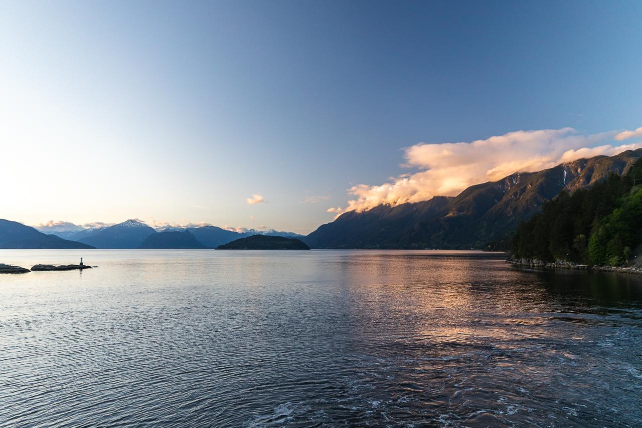 Reise von Vancouver nach Vancouver Island