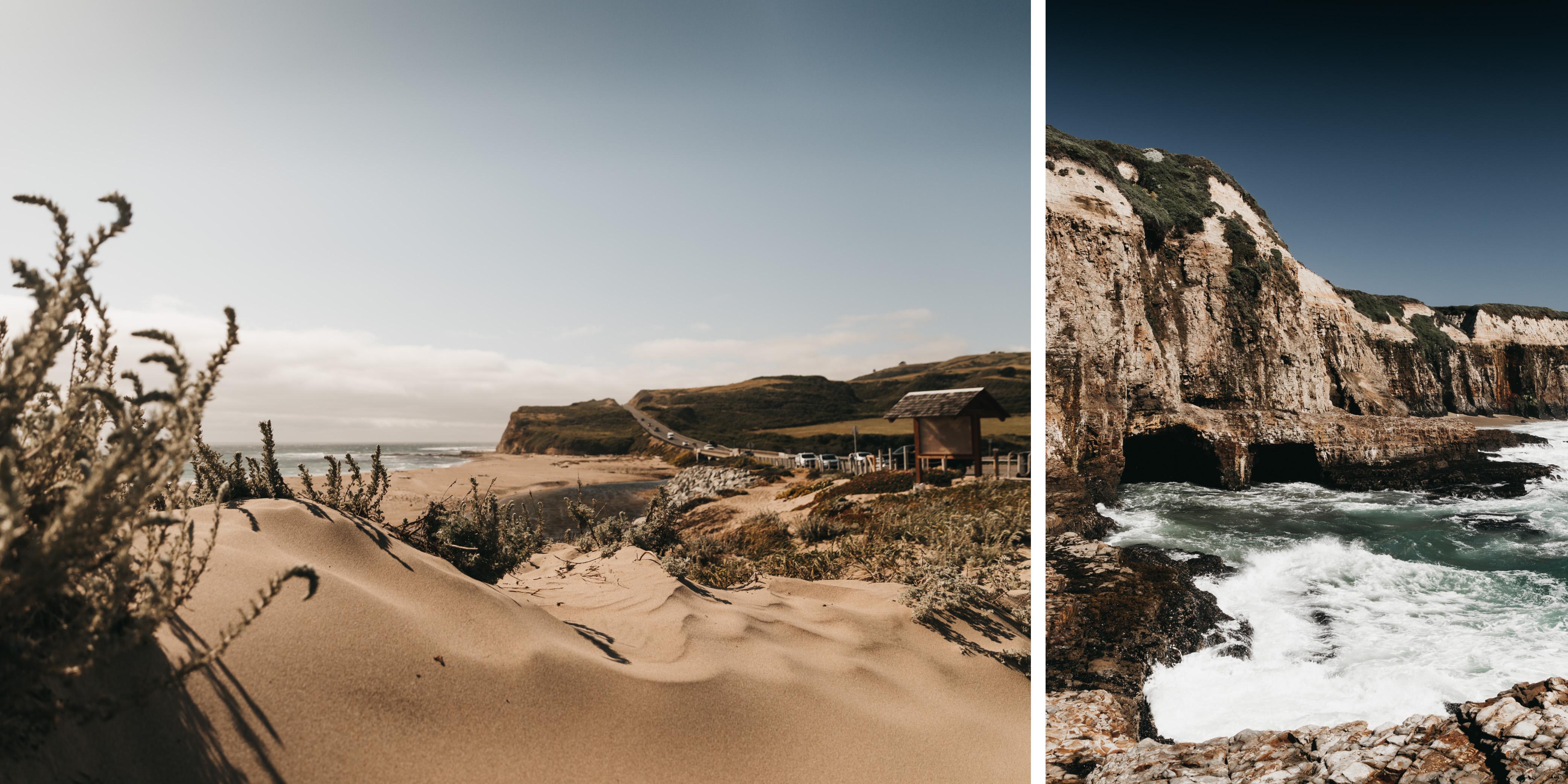 Highway 1 San Francsico Strände Küste Monterey