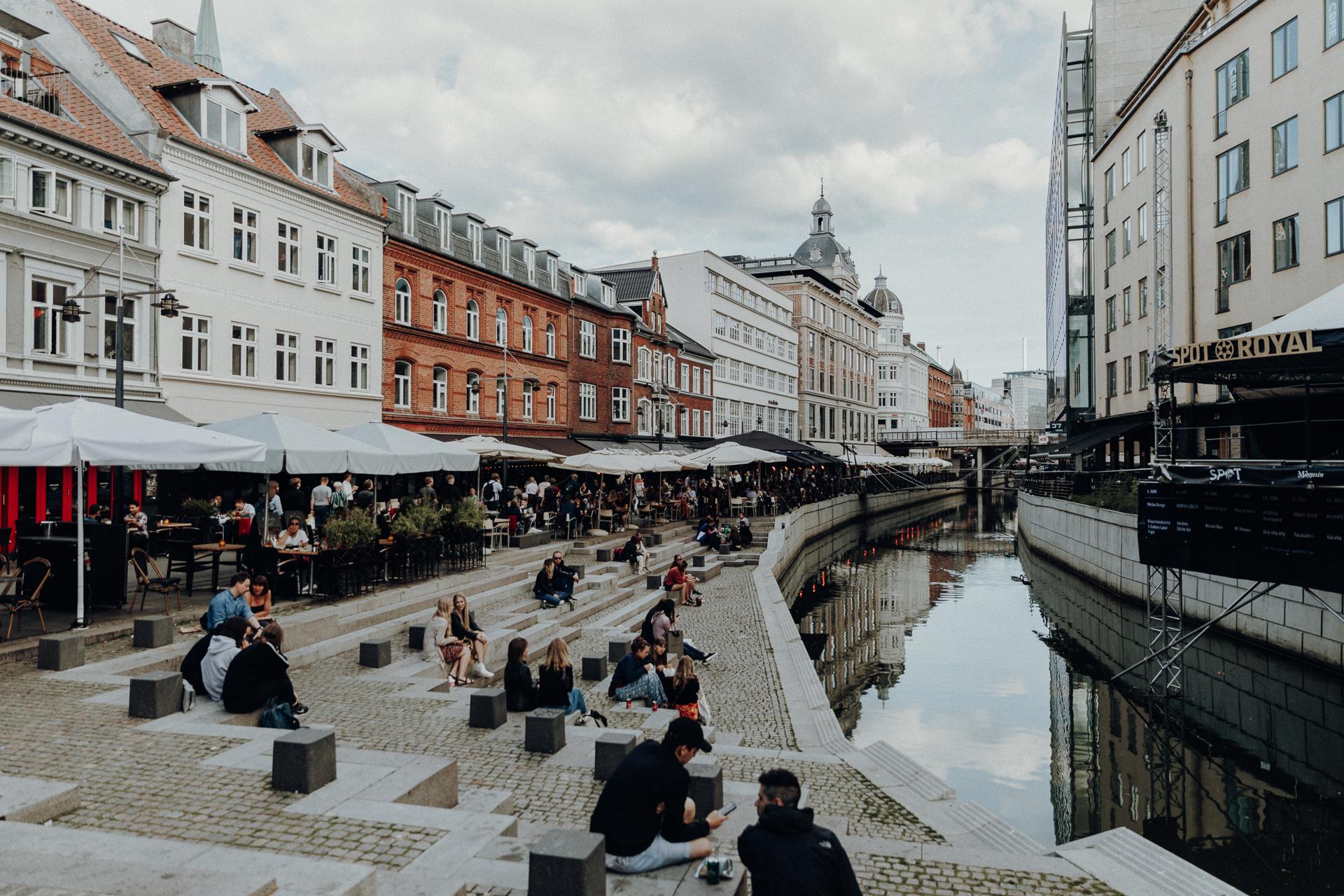Altstadt Aarhus Dänemark