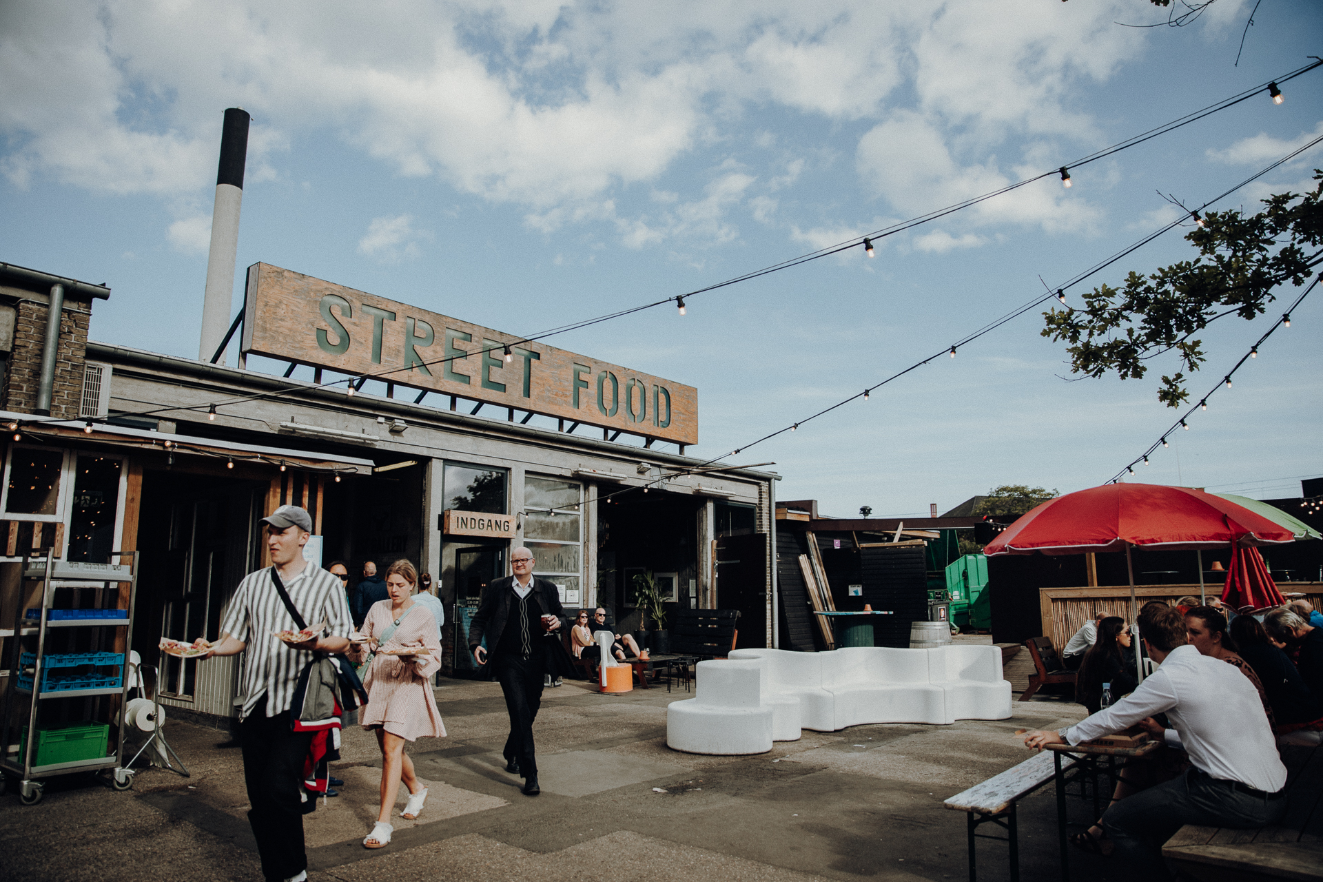 Restaurants und Essen gehen in Aarhus Street Food Market