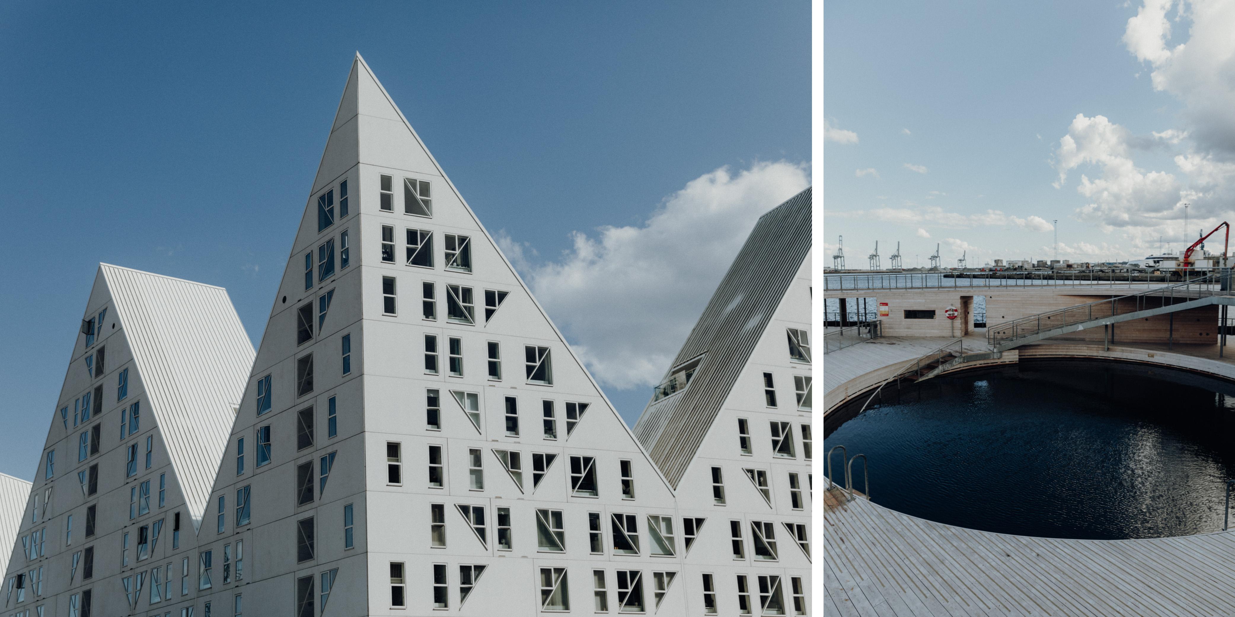 Der Hafen und Aarhus Ø - Highlights in Aarhus Dänemark und Reisetipps