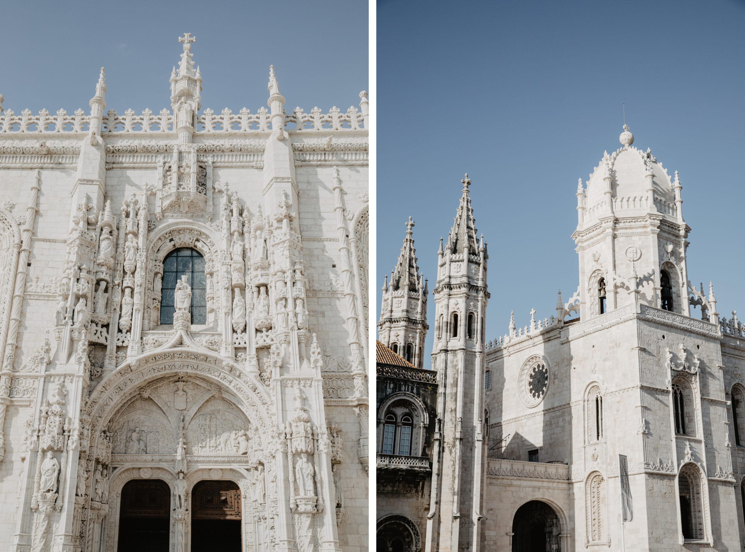 Das Kloster Mosteiro dos Jerónimos in Belém ist UNESCO Weltkulturerbe Sehenswürdigkeiten Highlights Lissabon
