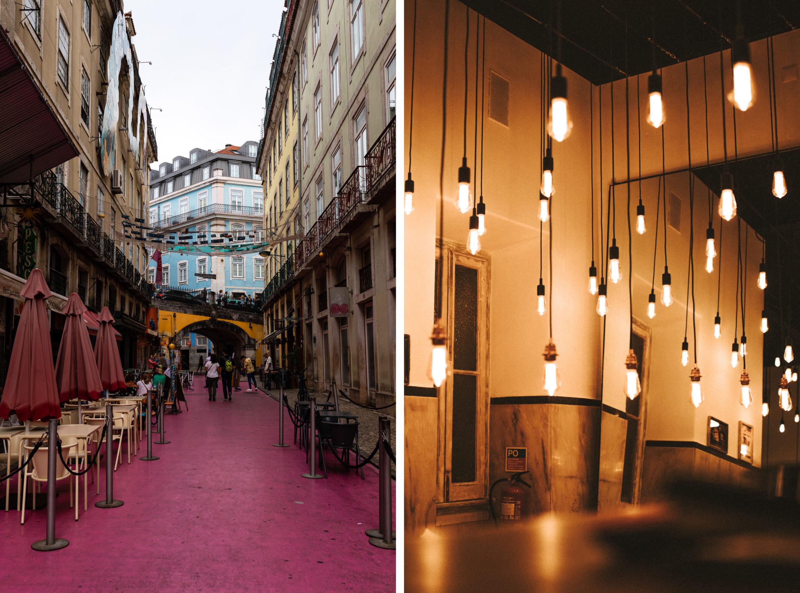 Nachtleben in Lissabon - Bars, Clubs und Restaurants in Bairro Alto