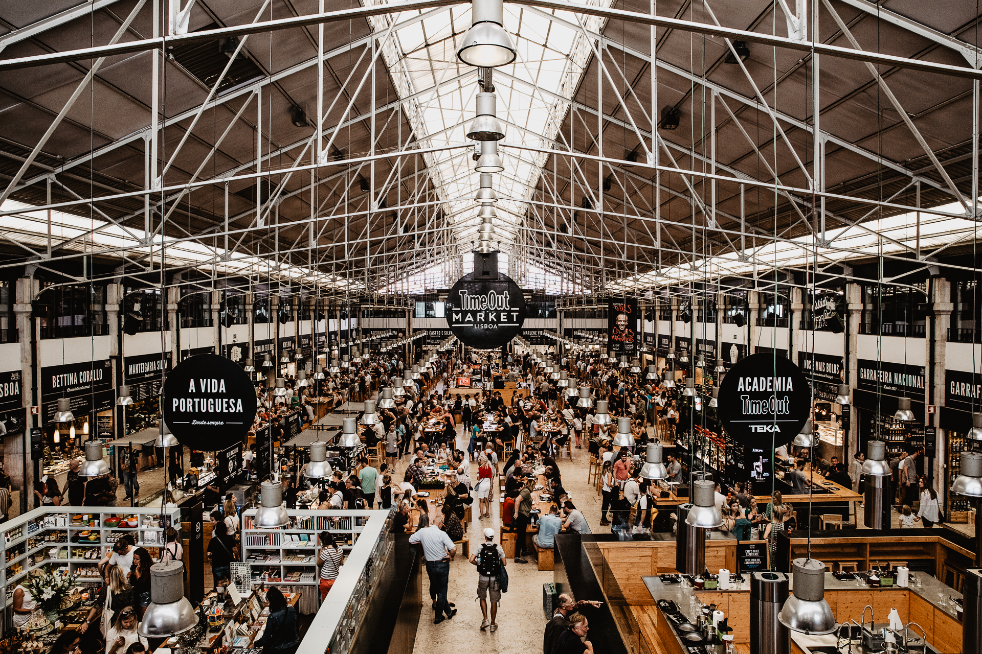 mercado da ribeira time out market foodie Sehenswürdigkeiten Highlights Lissabon