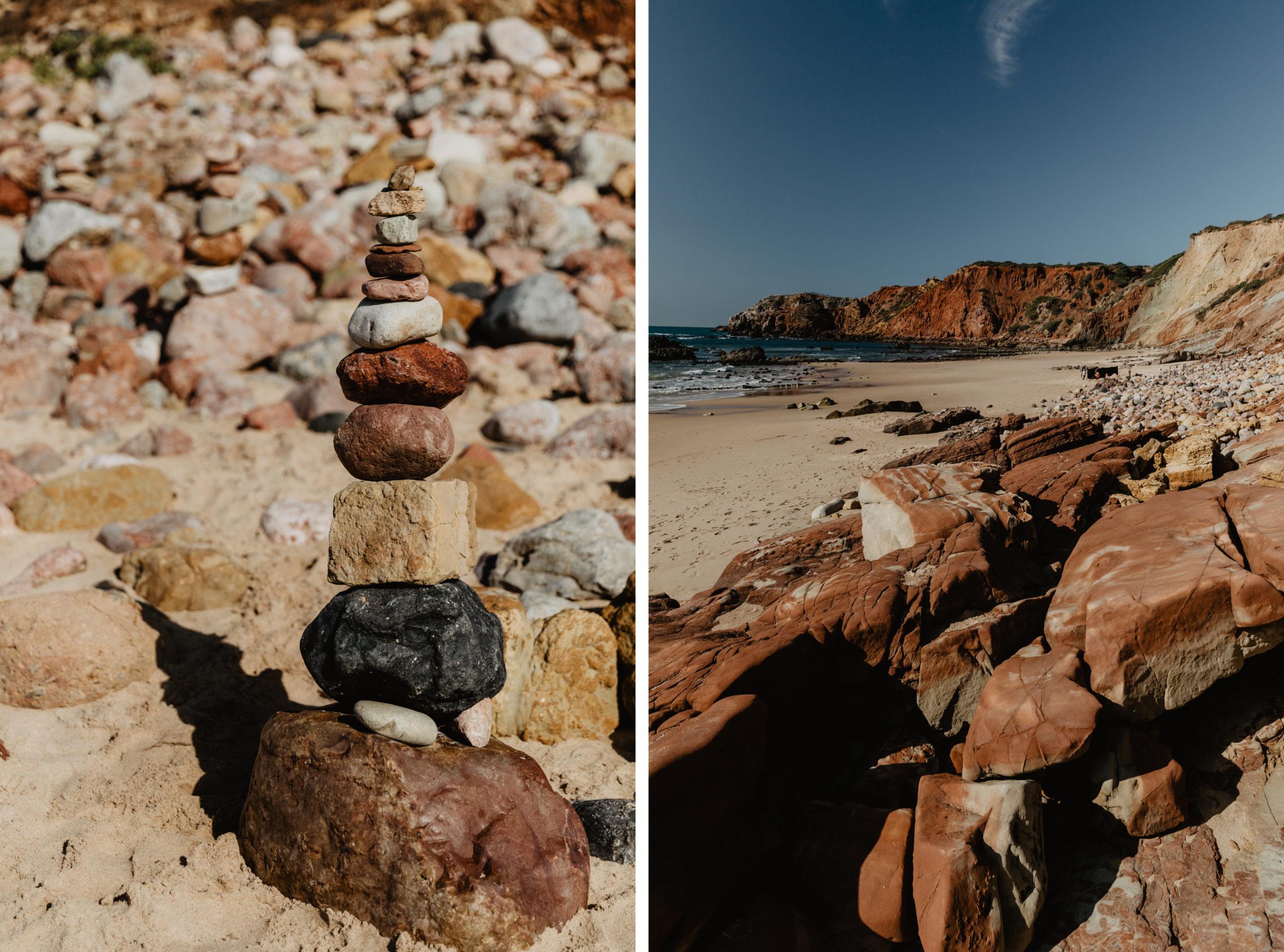 Strand Praia do Amado an Portugals Westküste