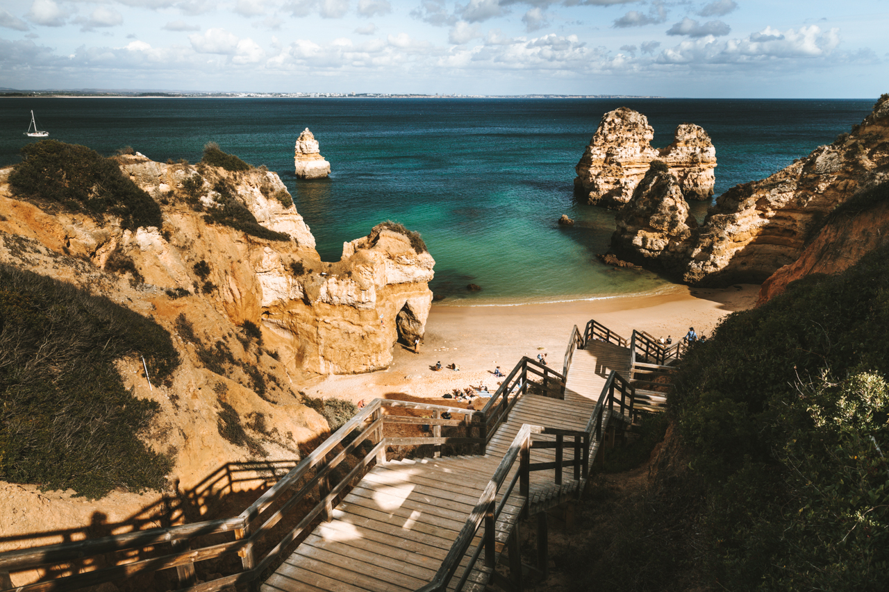 Praia do Camilo & Praia de Dona Ana Traumstrände an der Algarve in Portugal