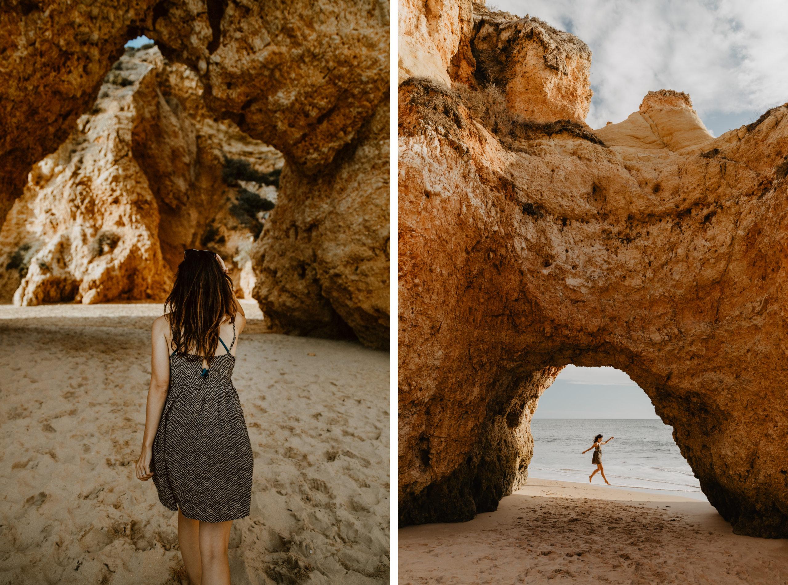 Strand Praia dos Trés Irmãos an der Algarve eine Traumstrand