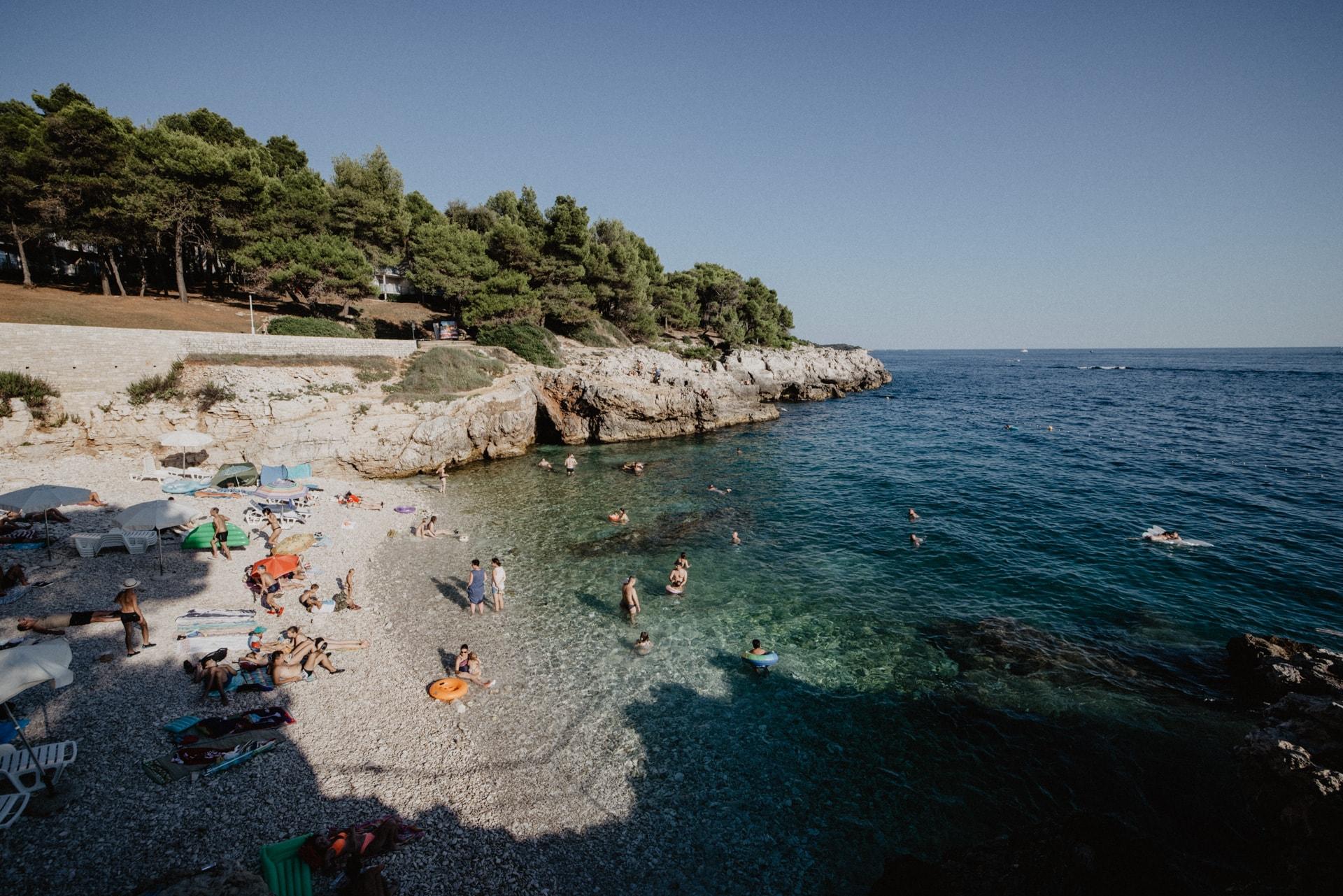 Hawaii Beach Strände in Pula Kroatien
