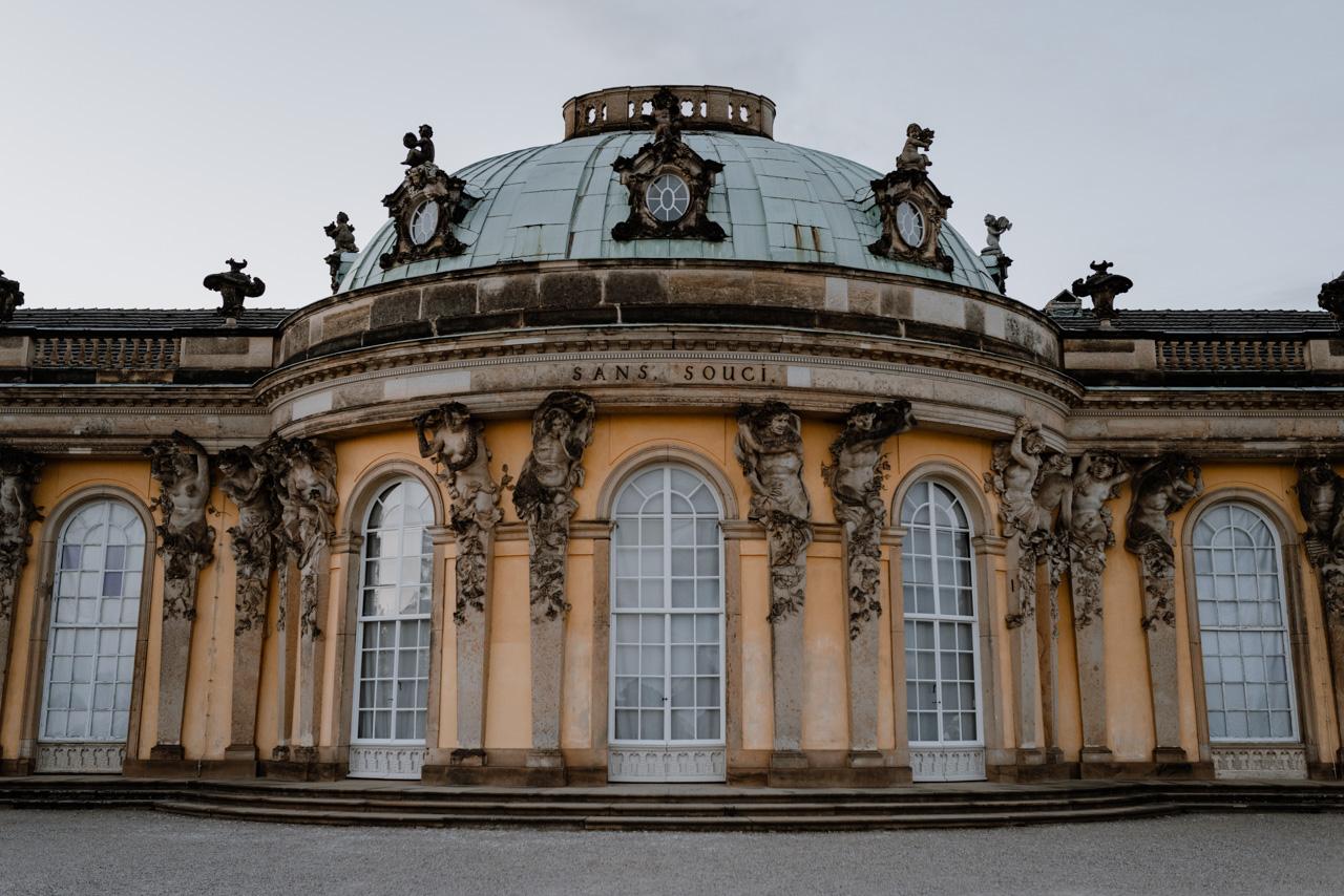 Schloss Sanssouci Potsdam Schlösser Wanderung